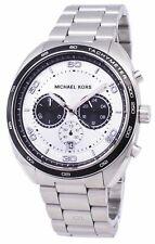 Michael Kors Men's Chronograph Dane Stainless Steel Bracelet Watch 43mm MK8613