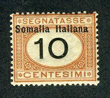 "Italian Somaliland, Scott #J32, Italy design ""D3"", MNH, 1926"