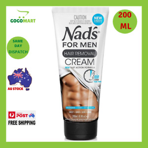 The Original Nad's Hair Removal Cream For Men New Formula and Fragrance NEW AU