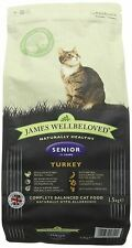 Wellbeloved Cat Food Turkey/Rice Senior 1.5kg - 19237