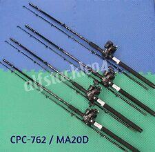 "Okuma Classic Pro 7'6"" Line Counter Trolling Combo Cpc-762/Ma20D 4-Pack"