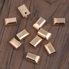 10pcs Vintage Metal Zipper Bottom Stopper Sewing For Open End Garment Tailor New