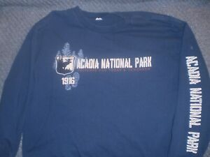 Acadia National Park graphic tee men's size XL