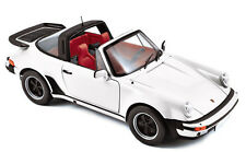 Porsche 911 turbo Targa 1987 blanco norev 1:18 187660