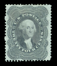 US 1860  Washington  24c gray lilac  Scott# 37  UNUSED  VF