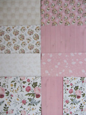 8 x English Country Sarah Davies Signature Collection 6x6 Papers Set 2