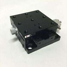 Optosigma Tadc 651s25uu Ball Bearing Linear Stage Aluminum X Axis 65mm X 65mm