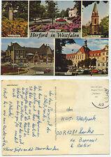 28920 - Herford in Westfalen - Ansichtskarte, gelaufen