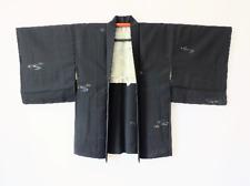 Japanese Vintage Black Haori Jacket T325