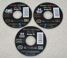 Nintendo Gamecube Kiosco/demostraciones interactivas de disco múltiples Resident Evil 4 22 26 30