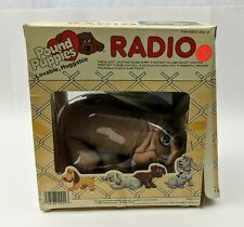 Pound Puppies Radio 1980's Vintage Playtime in package