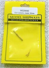 "Model Shipways Fittings MS 29042 Gun Culverin Metal 55/64"" (22MM) 1 Per Pack."