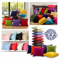 Homemade USA Decorative Pillows Cover/Cushion Cover 12 18 24 26 Optional +Insert