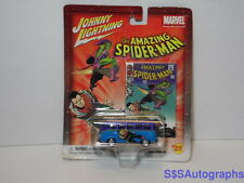 New 2003 AMAZING SPIDERMAN Marvel Comic VW VOLKSWAGON VAN Diecast 1964 Samba Bus
