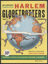 1963 Harlem GLOBETROTTERS Yearbook