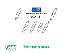 TUBERTINI SNAP DIAMOND  ATTACCO RAPIDO N 6   SURFCASTING - SPINNING