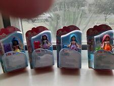 Barbie Mega Blocks Figures Gift Pack Lot Of 4 Packs Toys Gift Collection 1 Girls