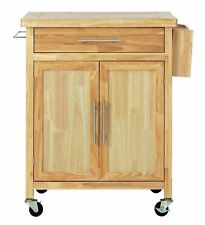 Home Tollerton Wooden Kitchen Trolley