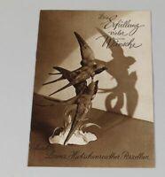 altes Prospekt von Hutschenreuther Porzellan aus den 1950er J. - TOP Zstd. /S263