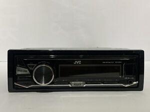 JVC KD-X241 RADIO MEDIA PLAYER STEREO HEAD UNIT USB AUX Mechless iPod Conn