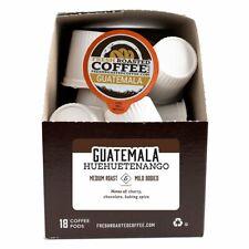 Guatemala Huehuetenango Single Serve Coffee Cups, Fresh Roasted Coffee LLC.