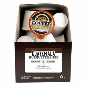 Guatemala Huehuetenango | 72 K-Cups, 2.0 Compatible | Fresh Roasted Coffee