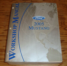 Original 2005 Ford Mustang GT Cobra Mach Shop Service Manual 05