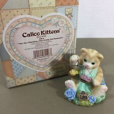 New ListingCalico Kittens Libra Zodiac Enesco Cat Kitten Figurine Charming Romantic 542458