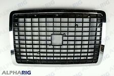 FIts 2004 - 2013 VOLVO VNL Front Grill Grille Black Chrome NEW W / Bug screen