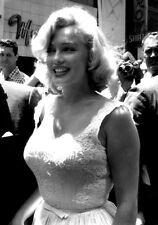 Sexy Photo 8.25x11.75 A4 Marilyn Monroe in White Dress Portrait #071