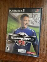 World Soccer Winning Eleven 9 (Sony Playstation 2 PS2) NM Complete Tested