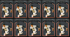 """(10) RICH """"GOOSE"""" GOSSAGE ALL-STAR SILVER FOIL # 251 1981 TOPPS STICKERS - HOF"""