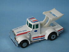 Matchbox Kenworth Race Truck Superboss Tyrone Malone China Base 70mm Toy Model