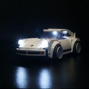 LED Light Kit for Lego 75895 1974 Porsche 911 Turbo 3.0 Blocks Car Kit