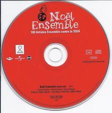 Johnny Hallyday CD un titre Noel ensemble promo 8160