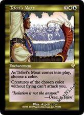 1 FOIL Teferi's Moat - Gold Invasion Mtg Magic Rare 1x x1
