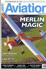 Light Aviation 2016 April Techpro Merlin