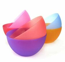 Plastic Bowls set of 12 Unbreakable and Reusable 32oz/6 inch Plastic Cereal/Soup