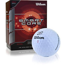 Wilson Smart Core Golf Ball - Pack of 24 White
