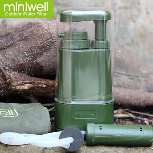 NEU Wasserfilter Miniwell L610 TrinkWasseraufbereiter gegen Viren und Bakterien