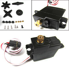 All-metal Gear Steering Gear Servo Spare Part Set for 1/18 Military Truck RC Car