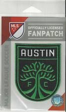"2020 Austin Fc Mls Soccer Patch 2 3/4"" x 3 1/2"" Sew Iron Official Futball Logo"