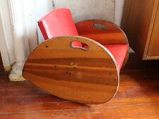 Art Deco Machine Age Antique Childs Rocking Chair Best Offer