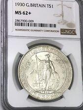 1930 G.Britain T$1 NGC MS62+