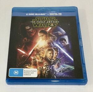 The Star Wars - Force Awakens Blu-ray 2 Disc Set