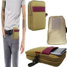 Portafoglio Hip Borsa Telefono Marsupio Girovita Cintura Uomo pelle Tasca per