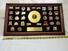 ELVIS PRESLEY- BRADFORD EXCHANGE -  PIN SET (33)