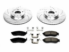 For 2012-2013 Infiniti M35h Brake Pad and Rotor Kit Front Power Stop 47581ZB