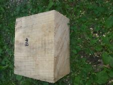 B16 Hickory Wood Turning Block Bowl Blank For Carving 7x6x4 Inch Woodwork pc