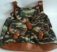 Backpacks Camouflage Green Backpacks - Fashion